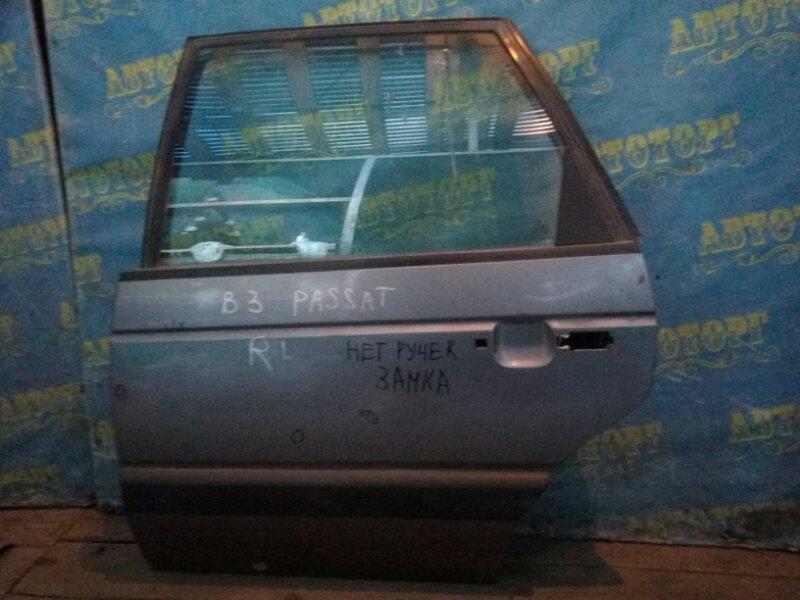 Дверь Volkswagen Passat B3 задняя левая