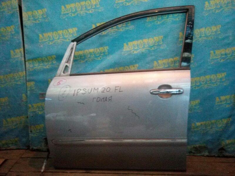 Дверь Toyota Ipsum ACM21 передняя левая
