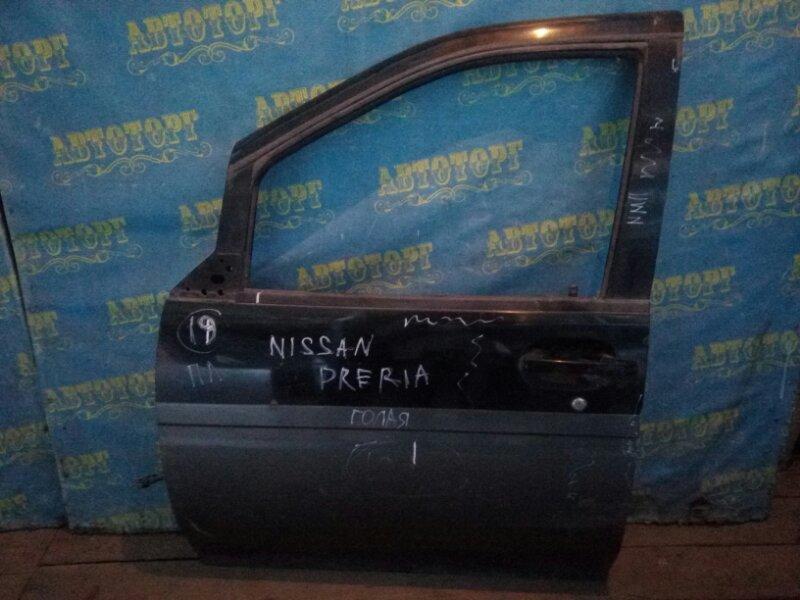 Дверь Nissan Prairie M11 передняя левая