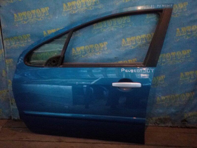 Дверь Peugeot 307 передняя левая