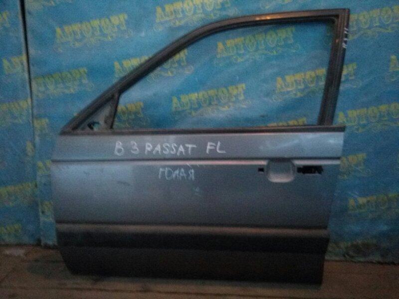 Дверь Volkswagen Passat B3 передняя левая
