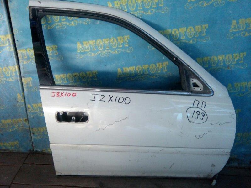 Дверь Toyota Cresta JZX100 передняя правая
