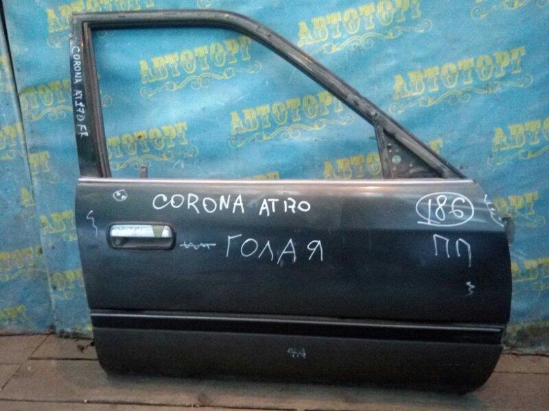 Дверь Toyota Corona AT170 передняя правая