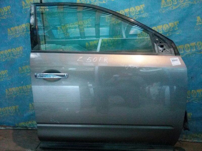 Дверь Nissan Murano Z50 VQ35-DE 2002 передняя правая