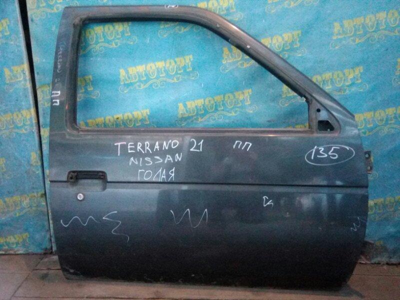Дверь Nissan Terrano D21 передняя правая