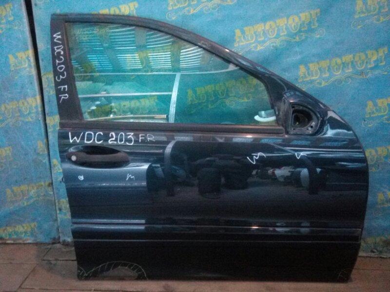 Дверь Mercedes C-Class W203 111 передняя правая