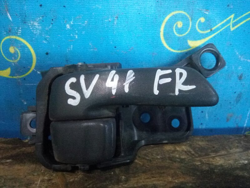 Ручка двери внутренняя Toyota Vista SV41 передняя правая