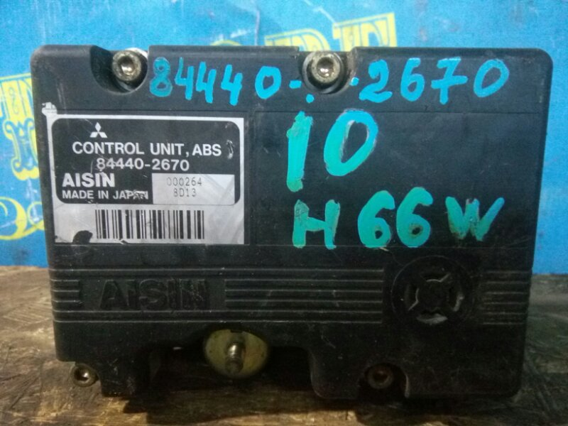 Блок abs Mitsubishi Pajero Io H66W 4G93