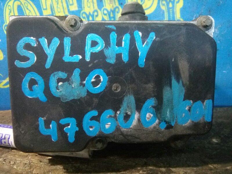 Блок abs Nissan Bluebird Sylphy QG10 QG18