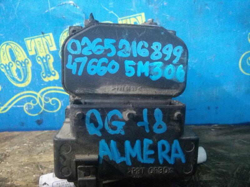 Блок abs Nissan Almera BBAN16 QG18