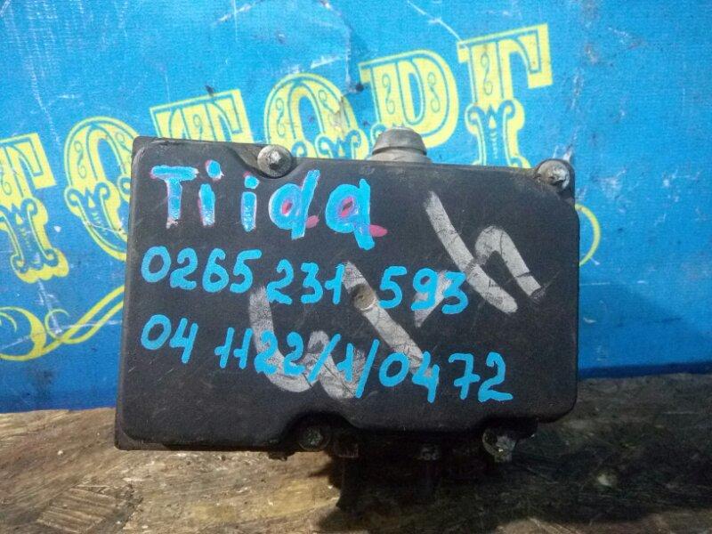 Блок abs Nissan Tiida C11 HR15