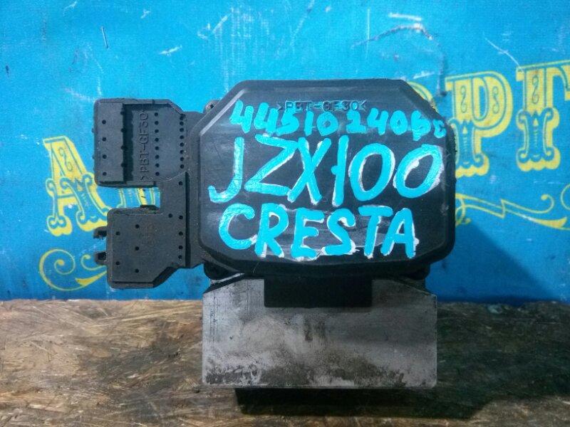 Блок abs Toyota Cresta JZX100