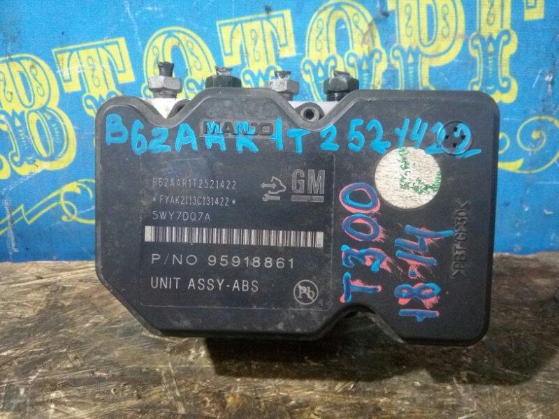 Блок abs Chevrolet Aveo T300 F16D4 2012