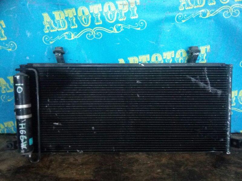 Радиатор кондиционера Mitsubishi Pajero Io H66W