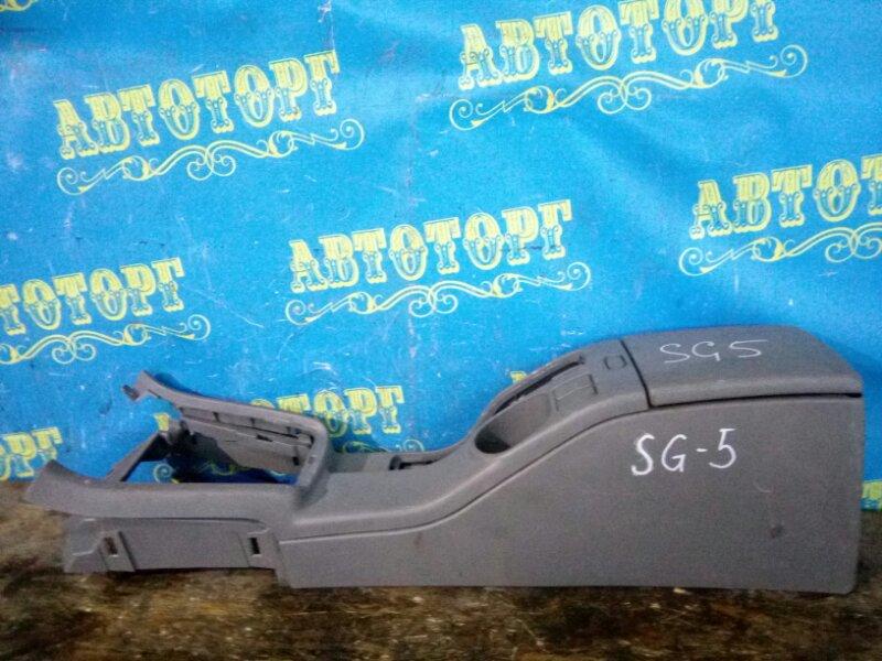 Бардачок между сиденьями Subaru Forester SG5
