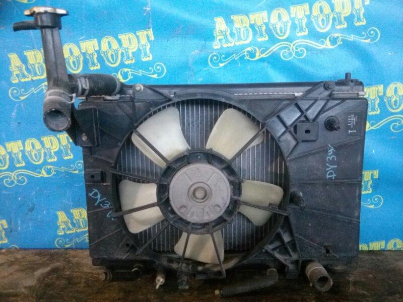 Радиатор основной Mazda Demio DY3W