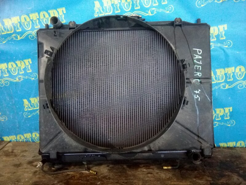 Радиатор основной Mitsubishi Pajero V75W 6G72