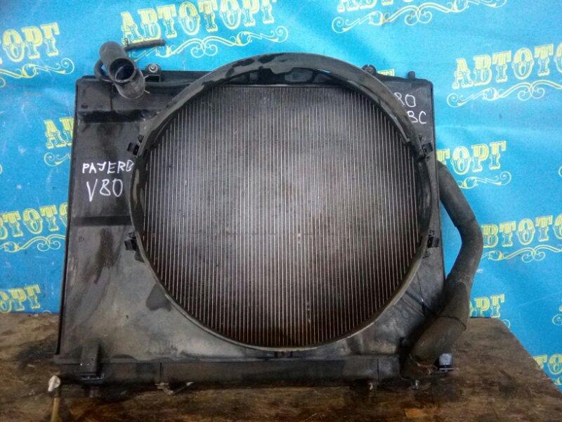 Радиатор основной Mitsubishi Pajero V83W 4M41 2010