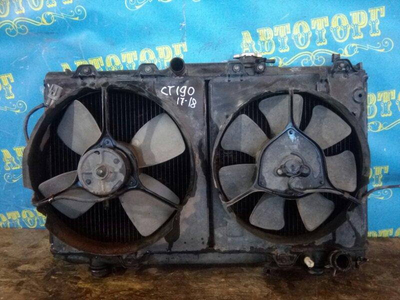 Радиатор основной Toyota Corona CT190 2C 1995