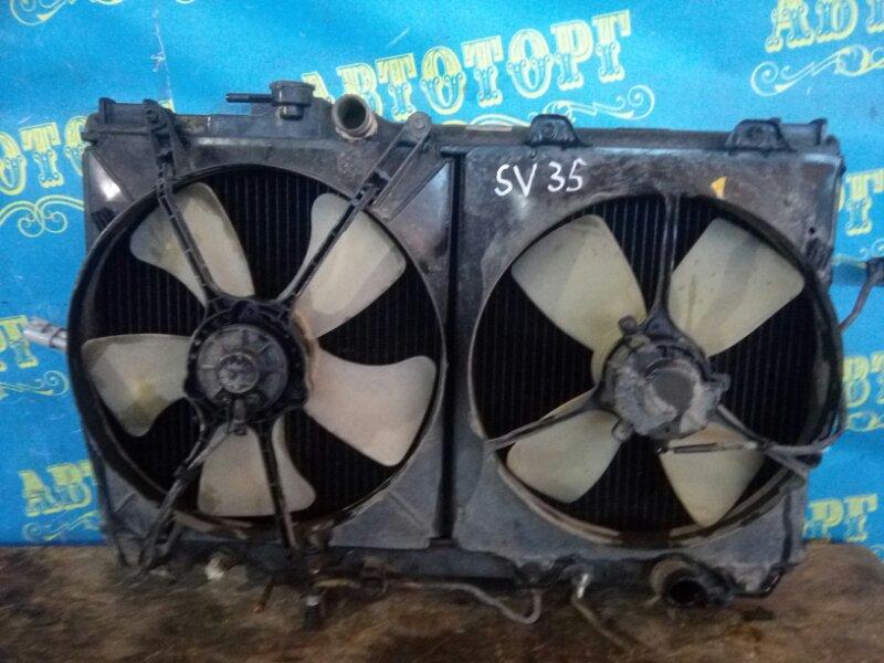 Радиатор основной Toyota Vista SV35 3S-FE 1993