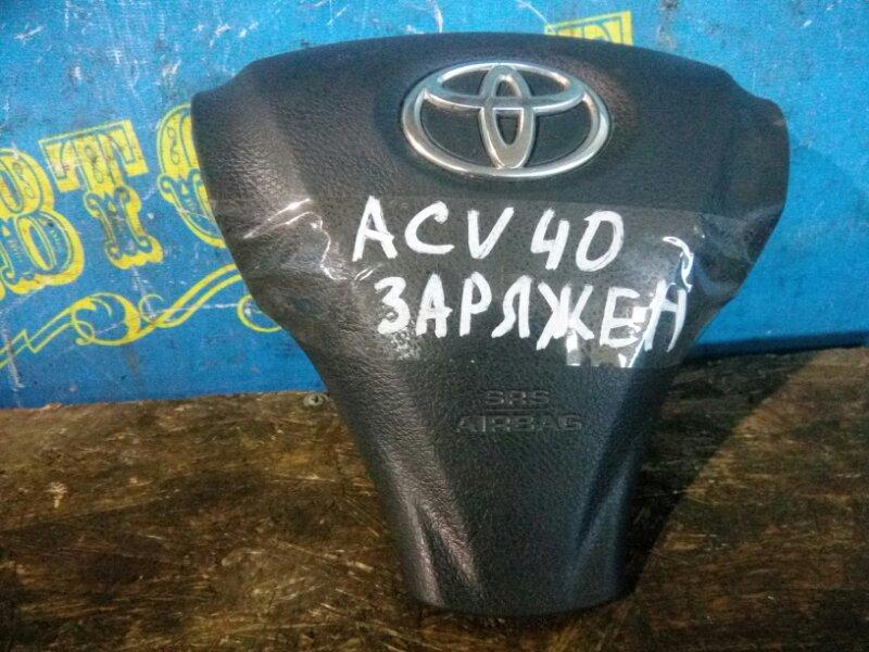 Airbag на руль Toyota Camry GSV40 2GR-FE 2007