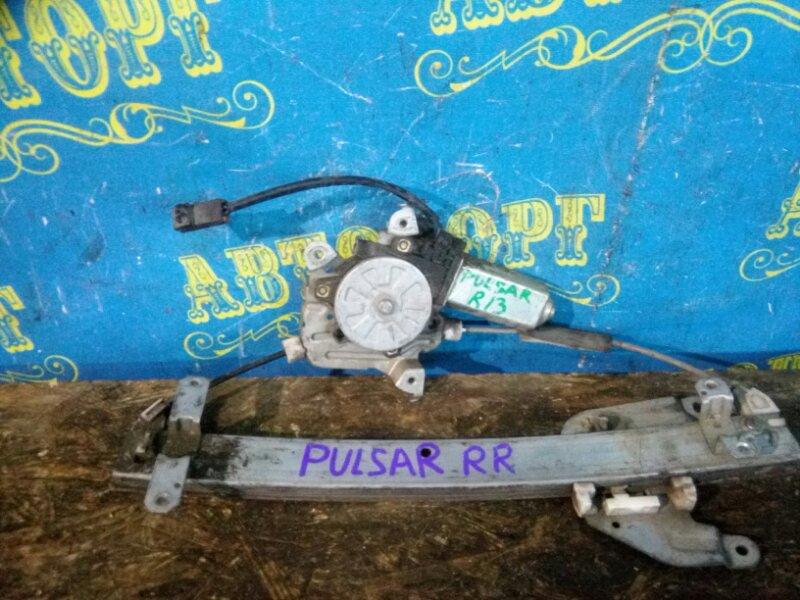 Стеклоподъемник Nissan Pulsar FN14 GA15 задний правый
