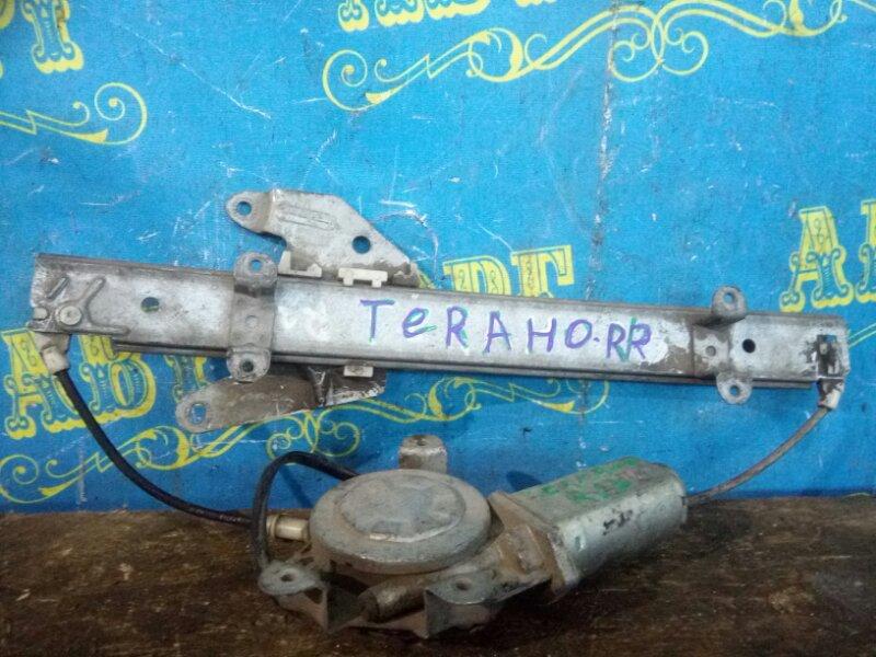 Стеклоподъемник Nissan Terrano D21 задний правый