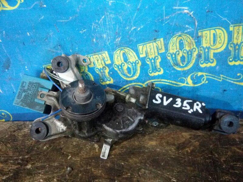 Мотор дворников Toyota Vista SV35 3S-FE 1993 задний
