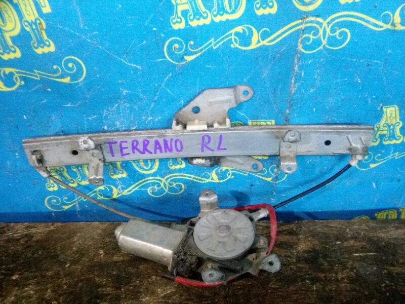 Стеклоподъемник Nissan Terrano D21 задний левый