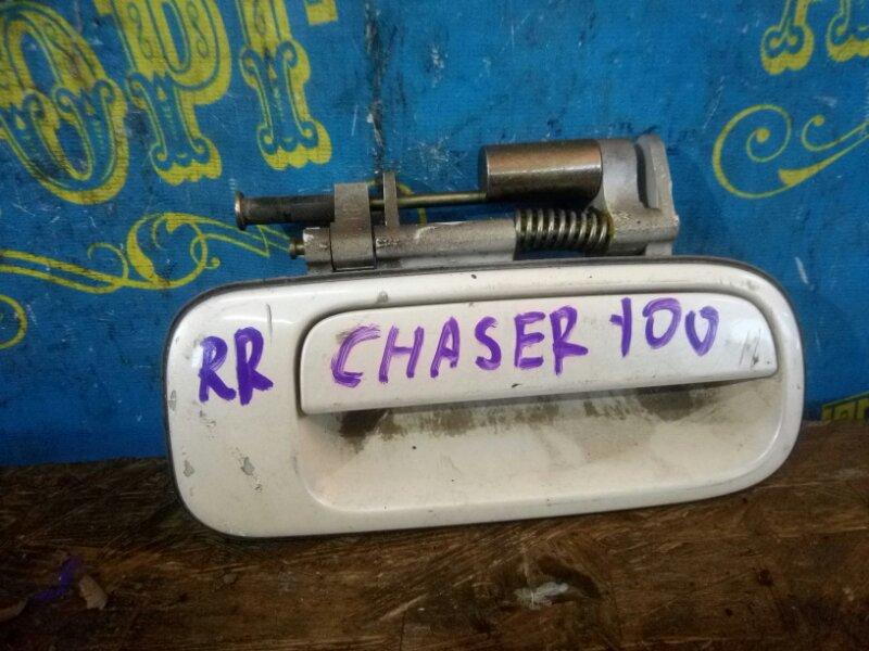 Ручка двери внешняя Toyota Chaser GX100 задняя правая