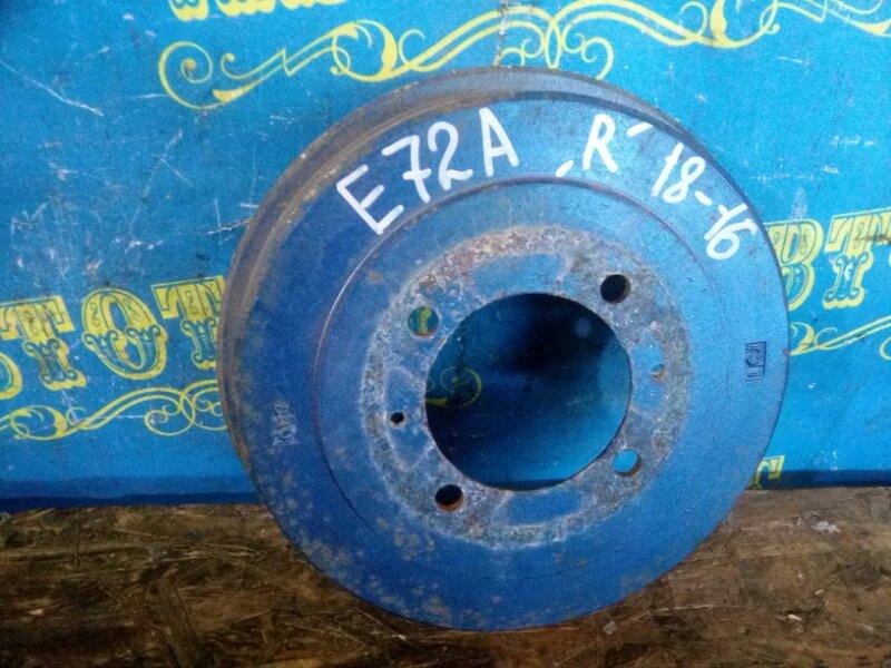 Тормозной барабан Mitsubishi Galant E53A E72A 4G93 1993 задний