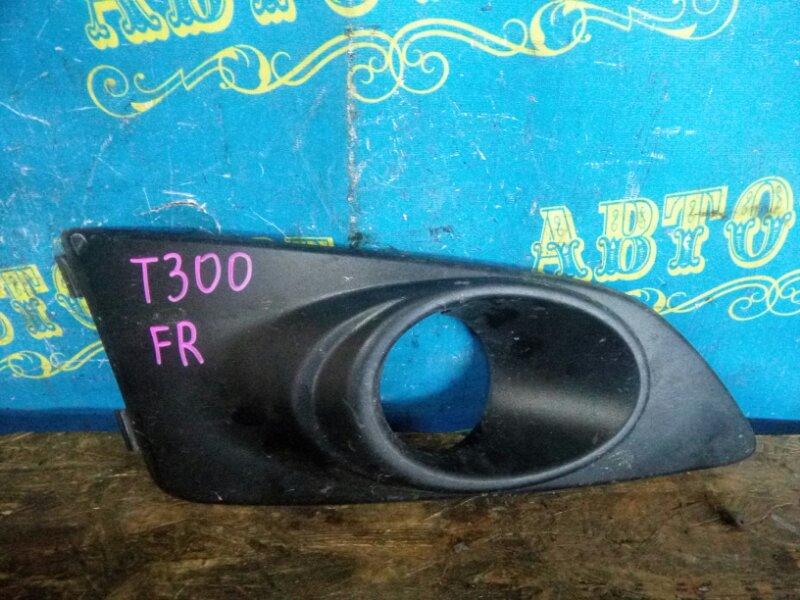Заглушка бампера Chevrolet Aveo T300 F16D4 2012 передняя правая