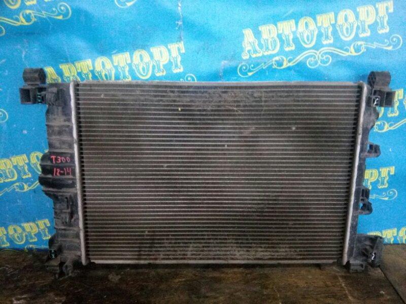 Радиатор основной Chevrolet Aveo T300 F16D4 2012