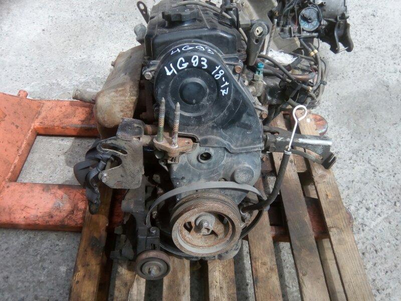 Двигатель Mitsubishi Galant E53A E72A 4G93 1993