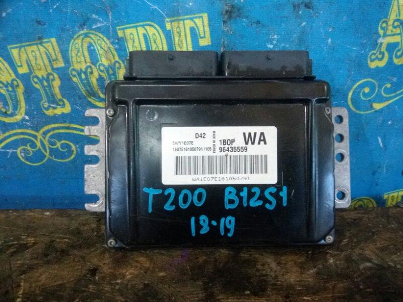 Блок управления двс Chevrolet Aveo T200 B12S1 2006