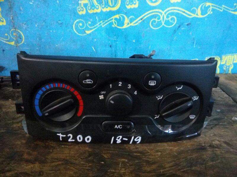 Блок управления климат-контролем Chevrolet Aveo T200 B12S1 2006