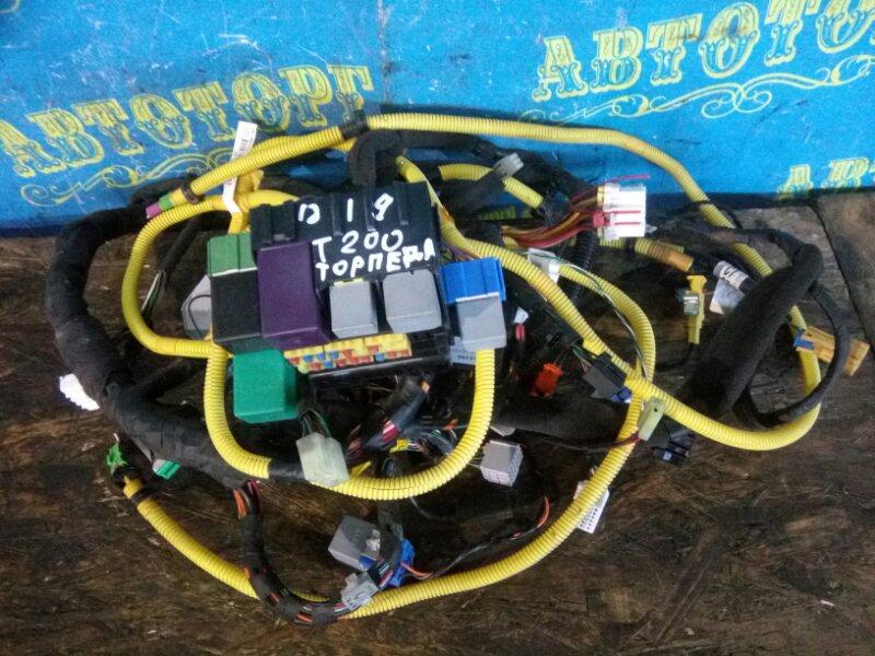 Проводка под торпеду Chevrolet Aveo T200 B12S1 2006