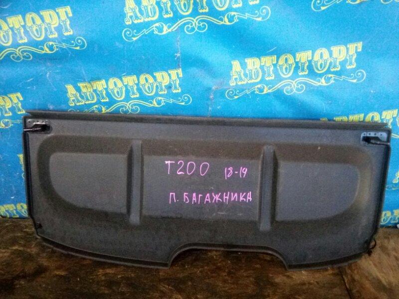 Полка багажника Chevrolet Aveo T200 B12S1 2006