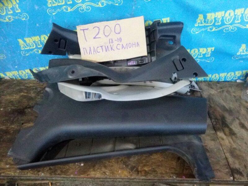 Пластик салона Chevrolet Aveo T200 B12S1 2006