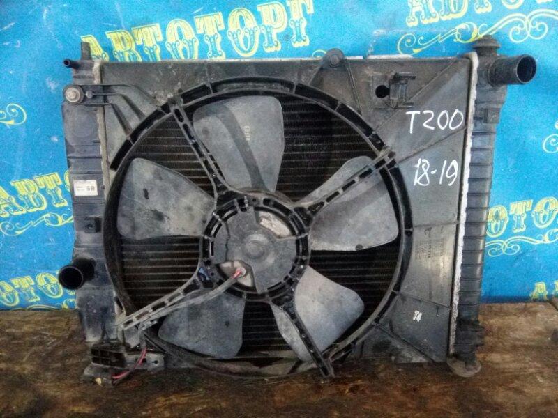 Радиатор основной Chevrolet Aveo T200 B12S1 2006