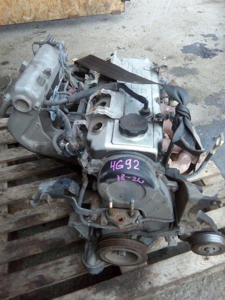 Двигатель Mitsubishi Lancer CK4A 4G92 1998