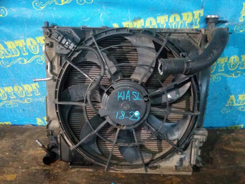 Радиатор основной Kia Sportage SL D4HA 2011