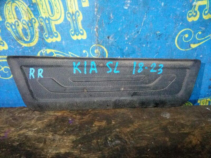 Порожек пластиковый декоративный Kia Sportage SL D4HA 2011 задний правый