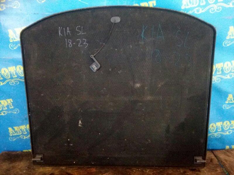 Пол багажника пластик Kia Sportage SL D4HA 2011