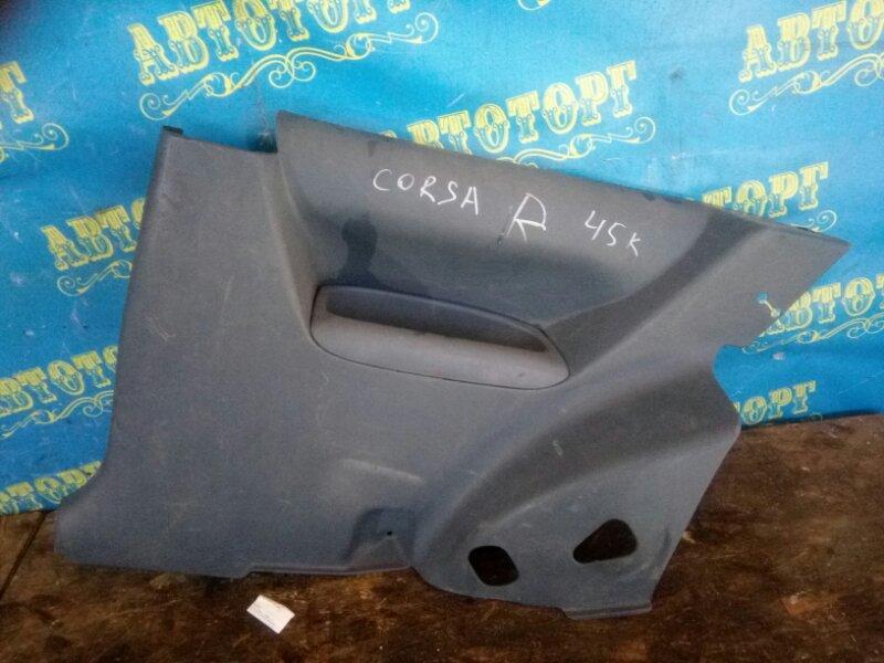 Обшивка багажника Toyota Corsa EL45 задняя правая