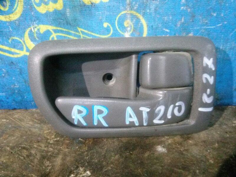 Ручка двери внутренняя Toyota Corona Premio AT210 4A 1999 задняя правая