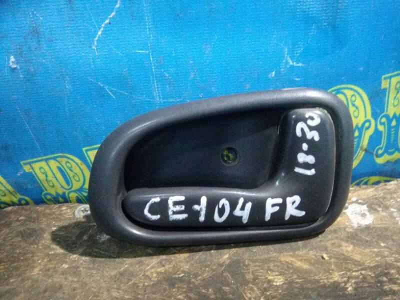 Ручка двери внутренняя Toyota Sprinter CE104 2C 2000 передняя правая