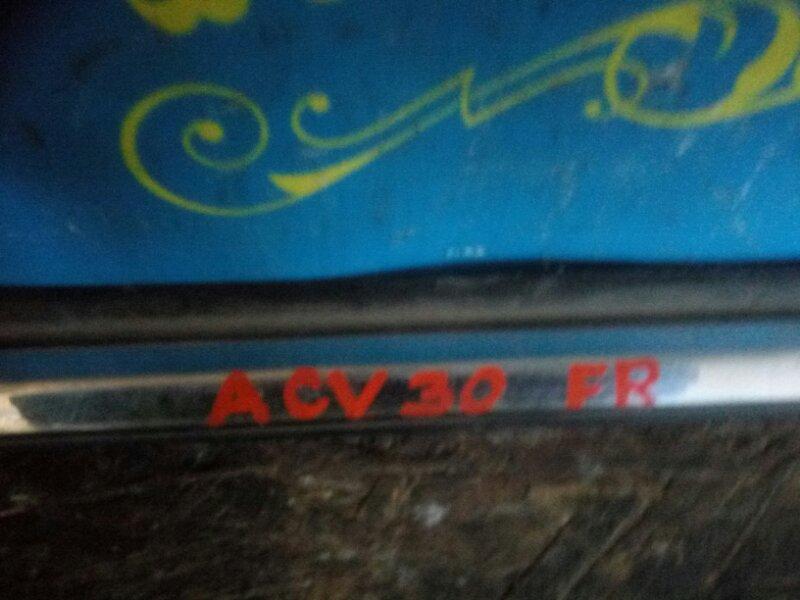 Молдинг на дверь Toyota Camry ACV30 передний правый