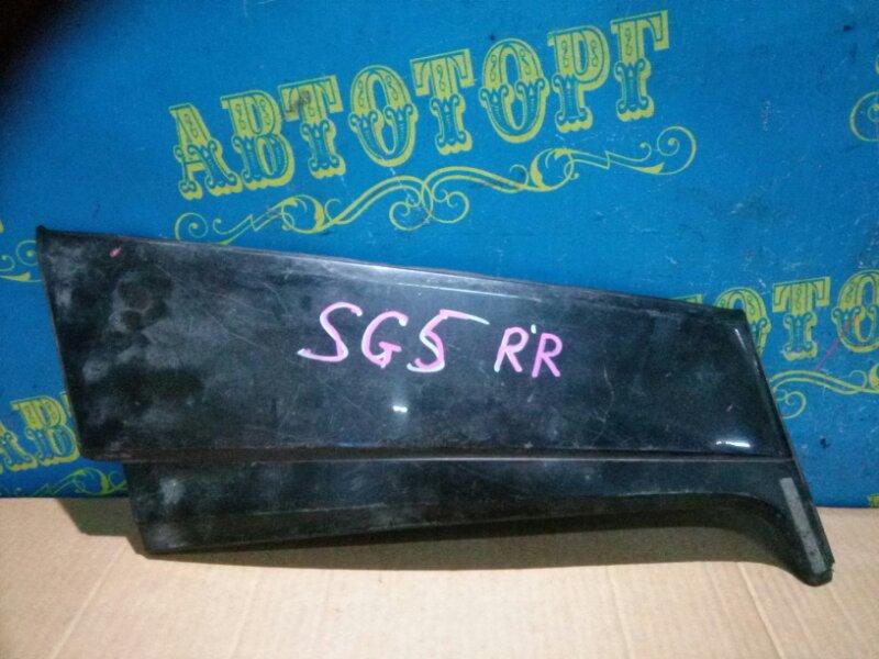 Накладка на крыло Subaru Forester SG5 задняя правая