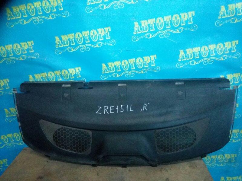 Полка багажника Toyota Corolla ZRE151L 1ZR 2013